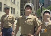 Fleet Week: Marines Hit The Streets Of New York City For The First Time