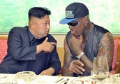 Dennis Rodman weeps with joy at summit between Donald Trump and Kim Jong-un