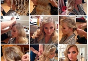 Side-Swept Curls Step-by-Step Tutorial