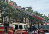 Brooklyn Fire Leaves 12 With Minor Injuries