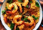 Australian Prawn and Chorizo Paella Recipe - 9kitchen
