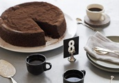 Chocolate Sour Cherry Cake Recipe - 9kitchen