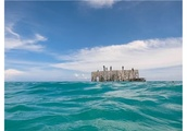 World's first semi-submerged museum debuts in the Maldives