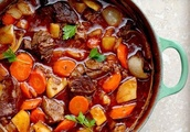 Beef with spicy vegetables - unusual and yummy!