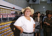 Kim Jong-un tries to stay cool in North Korean heatwave - as he tries to be 'a man of the peopl