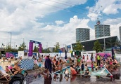 Royal Victoria Docks tests the water on making 'pilot' lido permanent