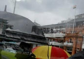 Anderson strikes as India collapse to 15-3 in between Lord's showers
