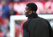 Captain Paul Pogba ensures he stands out from the crowd with commanding display