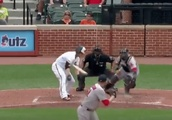 VIDEO: Brian Johnson Forces Chris Davis to Take the Worst Swing Ever