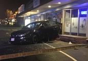 Woman and Burlington Police Officer Hospitalized After Crash
