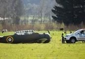 Historical plane crashes near Ōhakea