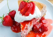 Strawberries and Cream Cheesecake With Pretzel Crust Perfect Recipe