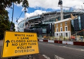 Tottenham stadium latest pictures: Work continues on Spurs' new ground after delayed opening