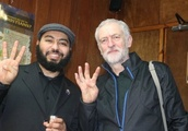Jeremy Corbyn condemned after image emerges of him making Muslim Brotherhood salute