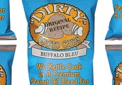 Dirty's Buffalo Bleu Potato Chips Mirror Everything Good About a Cheap Takeout Order