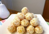 Apricot and White Chocolate Balls