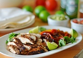 A Good and Quick Recipe.Grilled Chicken Fajitas