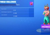 What are the Tomatohead challenges in Fortnite?