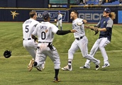 Rays complete 4-game sweep by beating Royals 4-3