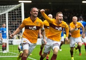Peter Hartley hailed by Motherwell boss Stephen Robinson as defender awaits SFA decision