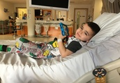 'I just want the house breakers to know they stole from a five-year-old fighting cancer'