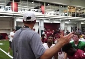 VIDEO: Arkansas Awesomely Surprises Three Walk-On Players With Scholarships