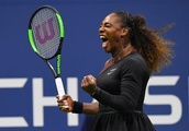 Solid start at US Open for Serena Williams, who couldn't wait to go see her daughter