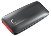 Samsung's portable SSD X5 drives fast and rocks race car red