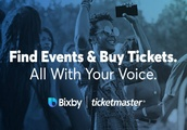 Samsung Bixby can order tickets from Ticketmaster