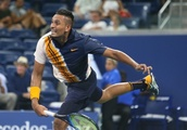 Weary Kyrgios puts heat on officials after first round win