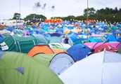 Thousands of tents left behind at festivals as attendees wrongly believe they will go to charity