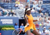 Sloane Stephens Competes at the 2018 US Open in New York