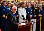 Senator John McCain Lies in State at the U.S. Capitol