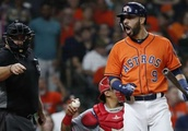 Astros blanked in second straight loss to Angels