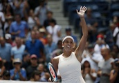 The Latest: 2017 US Open runner-up Keys rallies to advance