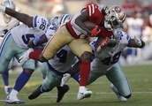 49ers RB Jerick McKinnon suffers season-ending knee injury