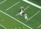 VIDEO: Notre Dame WR Goes All Randy Moss on Michigan for Killer TD Catch