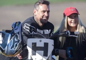 Carey Hart gives up second day of racing near Timaru to sign autographs