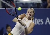 The Latest: 2-time Wimbledon champ Kvitova loses at US Open
