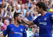 Chelsea player ratings: Marcos Alonso, Pedro, Hazard keep Blues 4-for-4