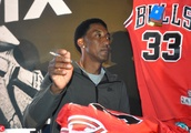 Scottie Pippen Heat Feast press conference