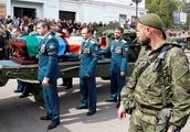 Tearful mourners queue to bid farewell to east Ukraine rebel chief