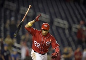 Soto 's 2-run single in 8th helps Nationals beat Brewers 5-4