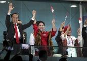 Asian Games stir Indonesia's pride, boost Jokowi's campaign