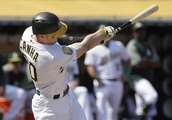 Canha homers as A's gain ground on Yankees in wild-card race