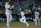 A's don't hit, fall apart late in 5-1 loss to Yankees