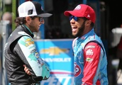Bubba Wallace already congratulated Chase Elliott for winning the NASCAR Most Popular Driver award