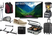 Discounts on 55″ OLED 4K TVs, Elliptical Trainers, Routers, Luggage, One-Day Shoe Sale and More for