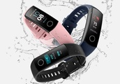 Huawei Honor Band 4 and Band 3 Pro appear with heartrate, color screens