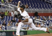 Alcantara dazzles on the mound, Marlins top Phillies 2-1